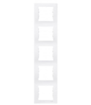 Rama verticala, 5 posturi SEDNA SCHNEIDER, gri-verzui