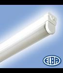 Corpuri de iluminat Fluorescente pentru Montaj Aparent -  1X36W disp.rotund 830(840) HF-S  , FIA - 11 LINEXA  cu dispersor,  ELBA