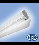 Corpuri de iluminat Fluorescente pentru Montaj Aparent - FIRA 11 AS 1X36W 830(840) HF-S, ASIMETRICE, ELBA
