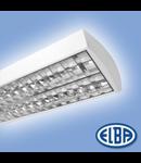 Corpuri de iluminat Fluorescente pentru Montaj Aparent , 1X58W DP HF-P,   FIRA-03 MATIAS,  ELBA
