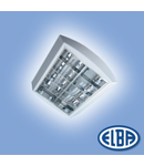 Corpuri de iluminat Fluorescente pentru Montaj Aparent - 2X18W DP HF-P ,  FIRA-03 MATIS,   ELBA