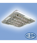 Corpuri de iluminat Fluorescente pentru Montaj Aparent - 4X18W SP 9 lamele HF-S,  FIRA-03 MATIAS  ELBA