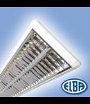 Corpuri de iluminat Fluorescente pentru Montaj Aparent - 2 x 28 W , FIRA 07 PLATOS DP T5 HF-P,  ELBA