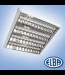 Corpuri de iluminat Fluorescente pentru Montaj Aparent - 4 x 18 W, FIRA 07 PLATOS DR,  ELBA