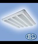 Corpuri de iluminat Fluorescente pentru Montaj Aparent - 4X18W  , FIRAG 07 PLATOS,  ELBA