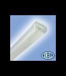 Corpuri de iluminat Fluorescente pentru Montaj Aparent - 1X18W transparent,  FIDA 05 SELENA,  ELBA