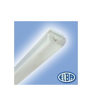 Corpuri de iluminat Fluorescente pentru Montaj Aparent - 1X36W opal,  FIDA 05 SELENA,  ELBA
