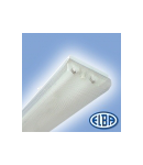 Corpuri de iluminat Fluorescente pentru Montaj Aparent - 2X36W transparent,  FIDA  05 SELENA,  ELBA