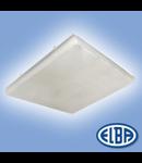 Corpuri de iluminat Fluorescente pentru Montaj Aparent - 4X18W transparent HF-S,   FIDA 05 SELANA,  ELBA