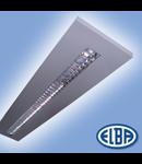 Corpuri de iluminat Fluorescente pentru Montaj Aparent -  2X28W, FIRA 14 PLANO T5 HF-P,   ELBA