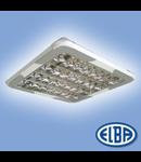 Corpuri de iluminat Fluorescente pentru Montaj Aparent - 4X18W SP cu ornamente, FIRA 03 CU ORNAMENTE,  ELBA