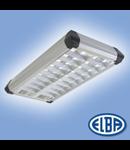 Corpuri de iluminat Fluorescente pentru Montaj Aparent - 4X18 DP HF-P , FIRA 08 COLAGE,  ELBA