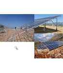 Suruburi cu cap hexagonal zincate, M10 x 60,  pentru Sisteme FOTOVOLTAICE