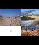 Piulite hexagonale galvanizate, M12,  pentru Sisteme FOTOVOLTAICE