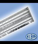 Corpuri de iluminat Fluorescente pentru Montaj Incastrat - 2X18W DP HF-S,  FIRI-03 ICAR,  ELBA