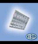 Corpuri de iluminat Fluorescente pentru Montaj Incastrat- 2X18W DP  , FIRI 03  ICAR LC, ELBA