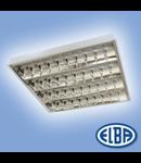 Corpuri de iluminat Fluorescente pentru Montaj Incastrat - 2X28W DP , FIRI 07 PLATOS T5 HF-P,  ELBA