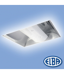 Corpuri de iluminat Fluorescente pentru Montaj Incastrat -  01 - 2X36W HF-P  reflector oglindat,  ODEON FIRI- 01, ELBA