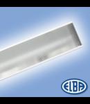 Corpuri de iluminat Fluorescente pentru Montaj  Incastrat -  1X18W TRANSPARENT, CRISTAL FIDI 02,  ELBA