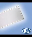 Corpuri de iluminat Fluorescente pentru Montaj Incastrat-  4X18W TRANSPARENT,  CRISTAL FIDI -03, ELBA
