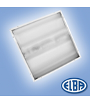 Corpuri de iluminat Fluorescente pentru Montaj Incastrat - 4X18W TRANSPARENT , FIDI-04 CRISTAL IP55,  ELBA