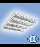 Corpuri de iluminat Fluorescente pentru Montaj Incastrat - 4X14W , FIDI 08 SOLARIS T5,  ELBA