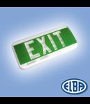 Corpuri pentru Iluminat de Siguranta, 1X8W, 3.0  h fara eticheta  , CISA TEMPORA (echipata cu lampi), ELBA