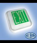 Corpuri pentru Iluminat de Siguranta, 1X16W  , CISA DUAL (echipata cu lampa), ELBA