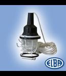 Antiexplozive, LPEx-01-40W II 2G Exde IIC T3 , Lampa portativa ( echipat cu lampa ) IP55,  ELBA