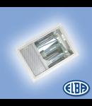 Corpuri de iluminat industriale, 400W halogenura metalica, PREMIUM 01 IP41, montaj INCASTRAT, ELBA