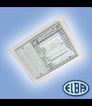 Corpuri de iluminat industriale, 250W halogenura metalica, cu gratar,  PREMIUM LUX IP66- montaj Incastrat, ELBA
