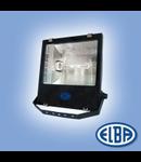 Proiectoare, 250W hal.met., refl. asimetric, LUXOR-01 IP66, IK06, ELBA