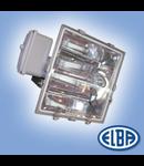 Proiectoare, 1000W hal.met., reflector simetric,  DECO IP65, ELBA
