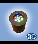 Proiectoare, 9X1,2W LED RGB, IMPACT, ELBA