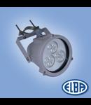 Proiectoare, DELFI 9X1W LED ALBASTRU, 1 niplu, IP 68, ELBA
