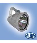 Proiectoare, RONDO 01 80W lampa albastra, 2 nipluri, IP66, ELBA