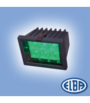 Proiectoare, 6X1W LED VERDE, PCH 01 LED IP44, ELBA