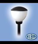 Corpuri de iluminat pietonale, OPAL / TRANSPARENT  100W, CLOUD IP55, ELBA