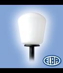 Corp de iluminat pietonal,  Ø250 OPAL, IADI IP44, ELBA