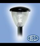 Corp iluminat pietonal, 75W transparent, AVIS 01 IP66, ELBA