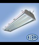 Corp de iluminat protejat la umezeala si praf, 6X54W HF-P echip. TL 54W HO/4850 lm, FIRADS 15 TROPICAL, ELBA