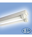 Corp de iluminat protejat la umezeala si praf, 2X36W HF-S,  FIPA 04,  ELBA