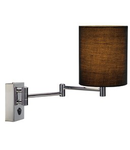 SOPRANA lampa perete, WL-1,negru, E27, max. 40W