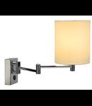 SOPRANA lampa perete, WL-1,alb, E27, max. 40W