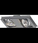 Spot QRB,2 module pentru AIXLIGHT ,gri