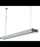 Lampa Q-LINE DOUBLE,2x35W,aluminiu/antracit