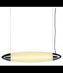 Lampa CREST PD-1,crom/alb,2 T5