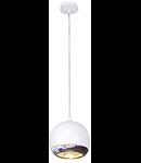 Lampa LIGHT EYE ,alb/crom