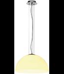 Lampa ORION 40,sticla, alb