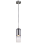 Lampa BARRO GLASS,crom